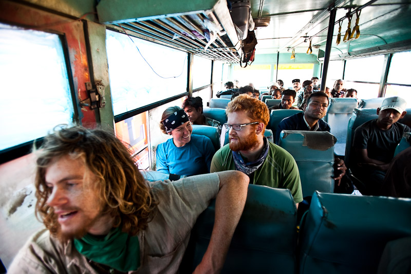 Getting to know the real India:  26 hours of the public bus system...